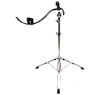 Heavy-Duty Base Stand - The base of the acoustic performance stand is a sturdy tri-pod style stand equipped with a fine-toothed tilter, double-braced legs, standard-gauge tubing, integrated memory locks, and oversize non-skid rubber feet. Truly a strong acoustic guitar performance stand you can count on.